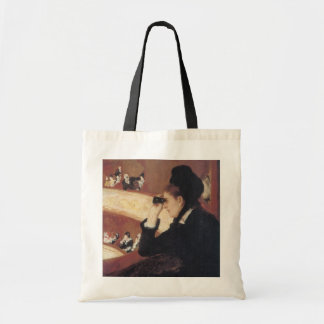 The Opera by Mary Cassatt, Vintage Impressionism Tote Bag