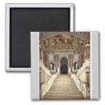 The Opera House, interior, Vienna, Austro-Hungary Refrigerator Magnet