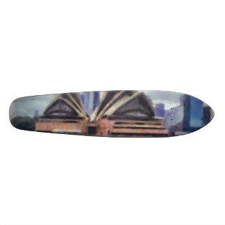 The opera house skateboard