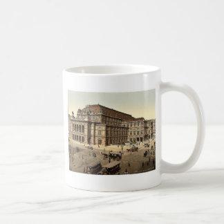 The Opera House, Vienna, Austro-Hungary magnificen Coffee Mug