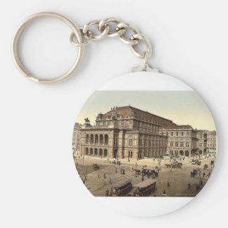The Opera House, Vienna, Austro-Hungary magnificen Key Chains