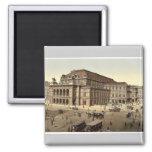 The Opera House, Vienna, Austro-Hungary magnificen Fridge Magnets