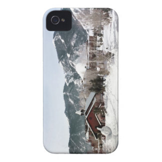 The Opera House with Snow Sculptures iPhone 4 Case-Mate Case