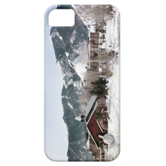 The Opera House with Snow Sculptures iPhone SE/5/5s Case