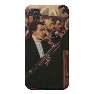 The Opera Orchestra, c.1870 iPhone 4/4S Cover