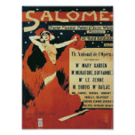 The Opera Salome Poster