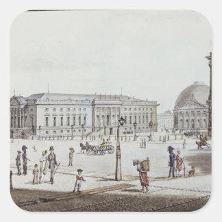 The Opernplatz, Berlin Square Sticker