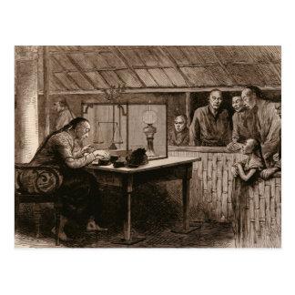 The Opium Traffic Postcard
