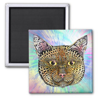The Opportunist 2 Inch Square Magnet