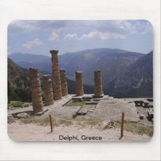 "The ""Oracle of Delphi"" Mouse Pad"