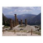 "The ""Oracle of Delphi"" Post Card"