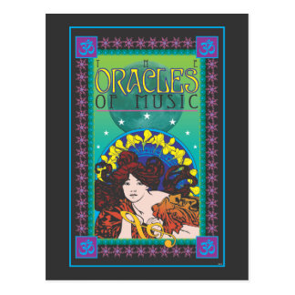 The Oracles of Music Postcard