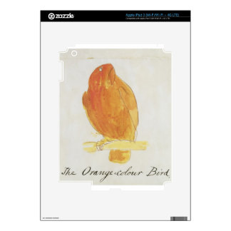 The Orange Colour Bird, from 'Sixteen Drawings of iPad 3 Decals