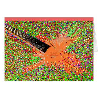 The Orange Coy  Fish Card