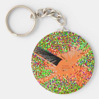 The Orange Coy Fish Keychain
