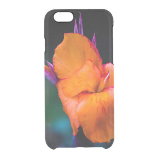 The Orange Crane Flower Clear iPhone 6/6S Case