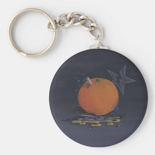 the orange keychain