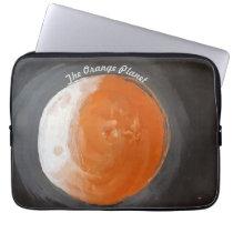 The Orange Planet - sneakers Computer Sleeve