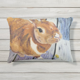 "The Orange Rabbit ""Blossom"" Outdoor Accent Pillow"