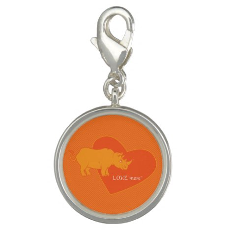 The Orange Rhino L.O.V.E. More Charm Bracelet