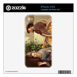 The Orange Seller (oil on canvas) Decal For The iPhone 4S