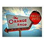 The Orange Shop Postcard