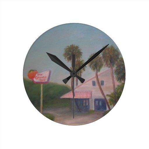 THE ORANGE SHOP Wall Clock