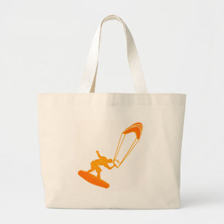 The Orange Sided Canvas Bags