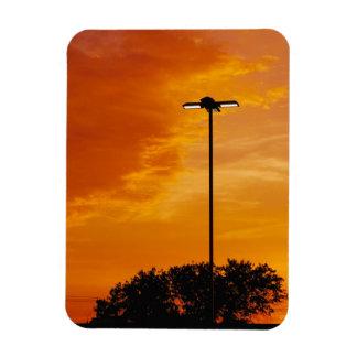 The Orange Sky Magnet
