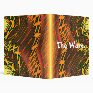 The Orange Wave notes. Binder