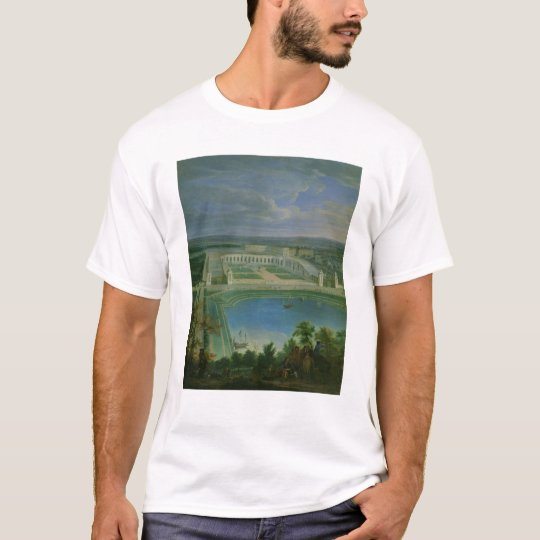 The Orangery and the Chateau at Versailles, 1696 T-Shirt