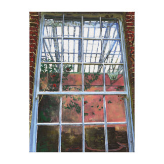 The orangery window 2012 canvas print