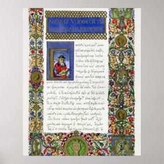 The Orations of Demosthenes (c.384-322 BC), facsim Poster