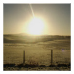 The Orb of Life Stunning Sunrise Landscape Print