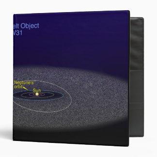The orbit of the binary Kuiper Belt object Binder