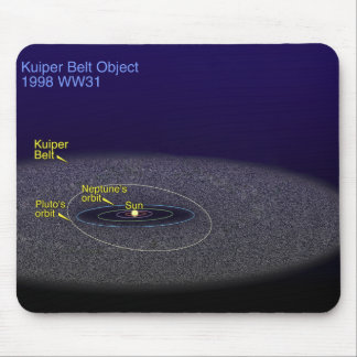 The orbit of the binary Kuiper Belt object Mouse Pad