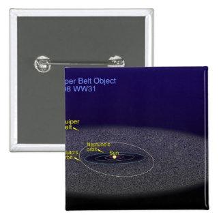 The orbit of the binary Kuiper Belt object Pinback Button