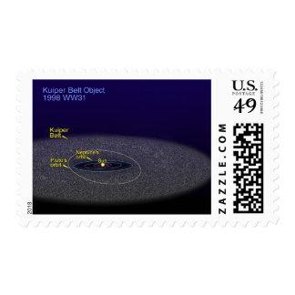 The orbit of the binary Kuiper Belt object Stamp