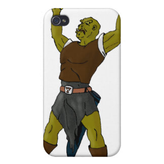 The Orc Cover For iPhone 4