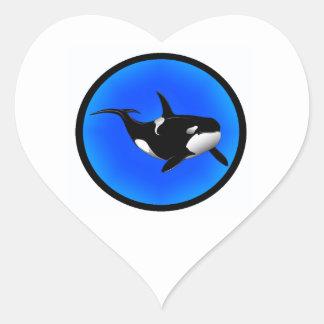THE ORCA DREAM HEART STICKER