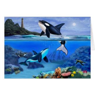The Orca Family Card