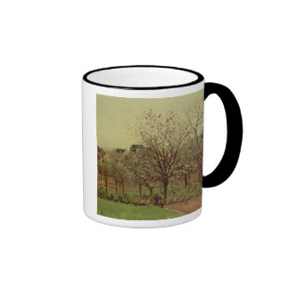 The Orchard, 1870 (oil on canvas) Ringer Coffee Mug