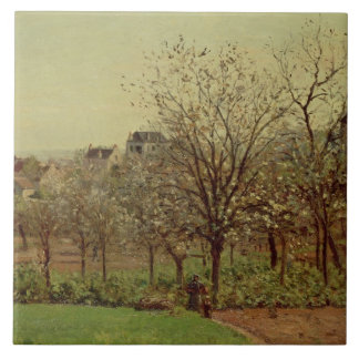 The Orchard, 1870 (oil on canvas) Tile