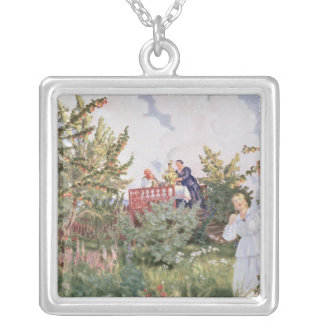 The Orchard, 1918 Personalized Necklace