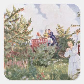 The Orchard, 1918 Square Sticker