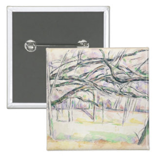 The Orchard, c.1895 (w/c on paper) 2 Inch Square Button