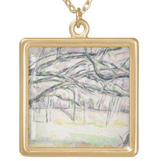 The Orchard, c.1895 (w/c on paper) Necklace