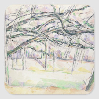 The Orchard, c.1895 (w/c on paper) Square Sticker