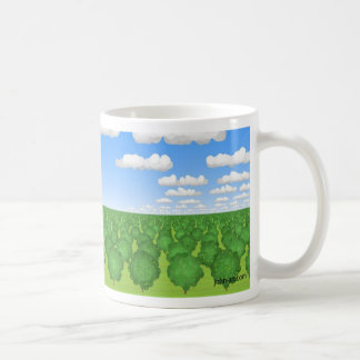 the orchard classic white coffee mug