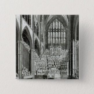 The Orchestra and Performers in Westminster Pinback Button